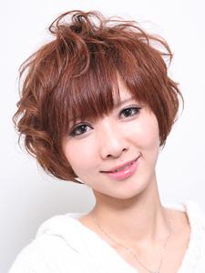 MIXパーマ|Hair Atelier DEAR-LOGUE 下北沢 のヘアスタイル