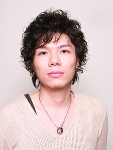 メンズパーマ|Hair Atelier DEAR-LOGUE 下北沢 のヘアスタイル