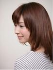 ナチュラルストレート|Hair Atelier DEAR-LOGUE 下北沢 のヘアスタイル