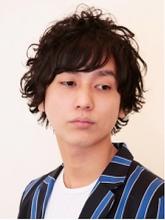 メンズスイングパーマ|Hair Atelier DEAR-LOGUE 下北沢  榎本   のメンズヘアスタイル