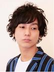 メンズスイングパーマ|Hair Atelier DEAR-LOGUE 下北沢 のヘアスタイル