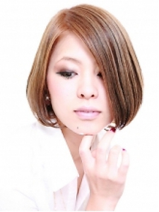 正統派のシンプルボブ|Hair Atelier DEAR-LOGUE 下北沢 のヘアスタイル