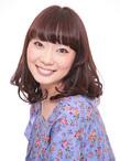 ミディアムパーマ Hair Atelier DEAR-LOGUE 下北沢 のヘアスタイル