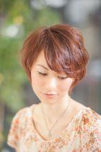 フェミニンショート|STYLE INDEX 茗荷谷店のヘアスタイル