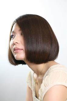 クラシカルワンレングス|afeelのヘアスタイル