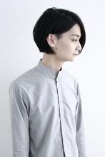 ミディアムツーブロック|ecouterのヘアスタイル