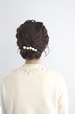 【ecouter】結婚式・パーティ・二次会*編み込みヘアアレンジ*