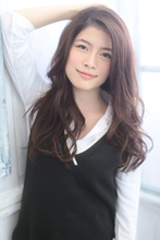 重め!動きのあるパープルアッシュロング|MODE K's 塚本店 モードケイズ塚本店のヘアスタイル