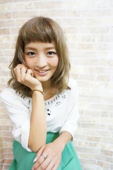 ▽▲甘辛MIX!ミントアッシュカラー▲▽|felicita 緑地公園店のヘアスタイル
