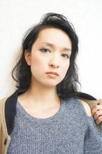 △▼グラマラス耳かけ黒髪ボブ▲▽|felicita 緑地公園店のヘアスタイル