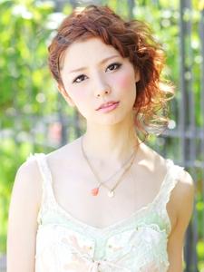 ルーズで無造作が大人かわいい♪甘辛結婚式ヘアアレンジ☆|felicita 緑地公園店のヘアスタイル