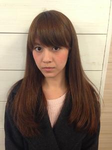大人かわいい厚めバング☆ラウンドボブナチュラルカール|felicita 緑地公園店のヘアスタイル