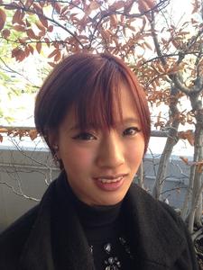 大人かわいいコケティッシュ耳かけボブ風マニッシュショート|felicita 緑地公園店のヘアスタイル