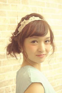 ●結婚式・二次会編み込みアレンジ○|felicita 緑地公園店のヘアスタイル