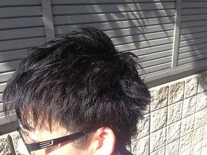 メンズ王道スパイキーショート!!|felicita 緑地公園店のメンズヘアスタイル