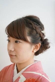 【結婚式&パーティー】和装華やかルーズアップ|felicita 緑地公園店のヘアスタイル