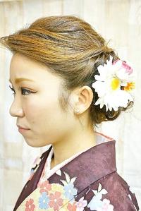 【卒業式】袴スタイル@アナ雪エルサアップスタイル