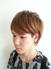ツーブロック束感ショートスタイル felicita 緑地公園店 川原 愛美のメンズヘアスタイル