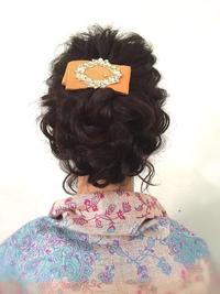 クラシカル&グラマラスな結婚式 二次会ヘアアレンジ