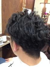 スタイリングしやすさナンバーワン、メンズパーマ|felicita 緑地公園店 米崎 勇のメンズヘアスタイル