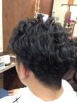 スタイリングしやすさナンバーワン、メンズパーマ felicita 緑地公園店のヘアスタイル
