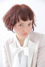 フェミニンピンクアッシュボブ☆|felicita 緑地公園店 米崎 勇のヘアスタイル