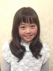 眉上バングエッジモード☆コケティッシュ抜け感フェアリー|felicita 緑地公園店のヘアスタイル