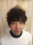 ニュアンスパーマ★スパイキーマッシュ felicita 緑地公園店のヘアスタイル