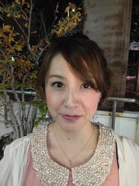 結婚式&パーティ☆ルーズなほつれ♪甘辛暗髪ヘアセット