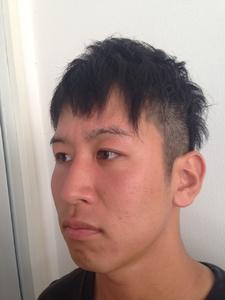 スッキリ!刈り上げ男前ツーブロックショート felicita 緑地公園店のヘアスタイル