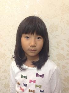 内巻きワンカール♪ガールズマッシュ|felicita 緑地公園店のヘアスタイル