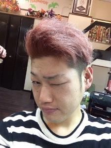 個性的カラー@無造作ルーズ★ワイルド束感ショート!|felicita 緑地公園店のヘアスタイル