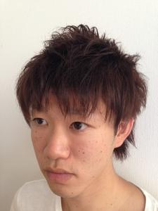 ネオウルフ風☆好感度アップの束感ショートスタイル|felicita 緑地公園店のヘアスタイル