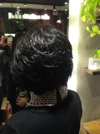 潤いのある暗髪&黒髪@フェアリーフェミニンボブ