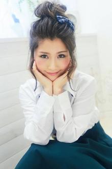 ★sCene★簡単お団子ラフUP|sCeneのヘアスタイル