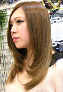 クリアベージュ|J-ONEのヘアスタイル