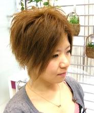 イケ女子ショート!!|J-ONEのヘアスタイル