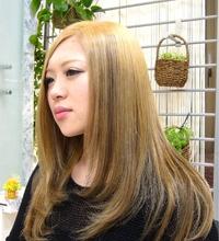 ハイトーンローライト|J-ONE Azari Amirのヘアスタイル