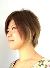 イケ女子ショートボブ|J-ONE Azari Amirのヘアスタイル