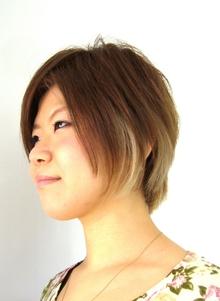 イケ女子ショートボブ|J-ONEのヘアスタイル