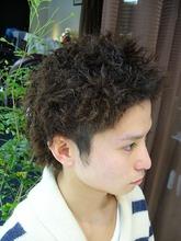 スプリングツイストパーマ!!(ツーブロック)|J-ONEのメンズヘアスタイル