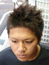斜めソフトツイストパーマ|J-ONEのメンズヘアスタイル