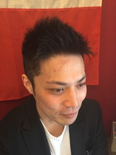 ザ・アップバング!|メンズ専門理容室インフィニィト 板宿店のヘアスタイル