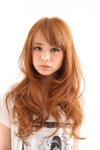 シルキーリラックスカール☆アンニュイロング|felicita 福島店 大西 彰のヘアスタイル