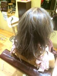 艶髪ゆるふわアッシュ