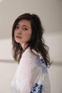 暗髪×エアリーロング
