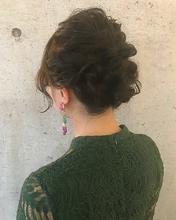 お呼ばれヘア|MASHU GRAND VASEのヘアスタイル