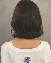 切りっぱなし外ハネボブ|MASHU GRAND VASEのヘアスタイル