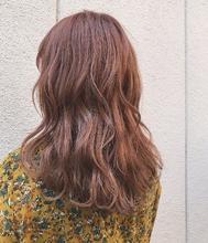 オレンジカラー|MASHU GRAND VASEのヘアスタイル