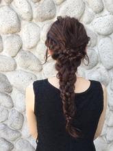 ヘアアレンジダウンスタイル|MASHU GRAND VASEのヘアスタイル